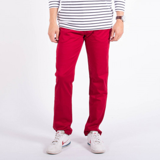 Pantalon GEORGES - ROUGE