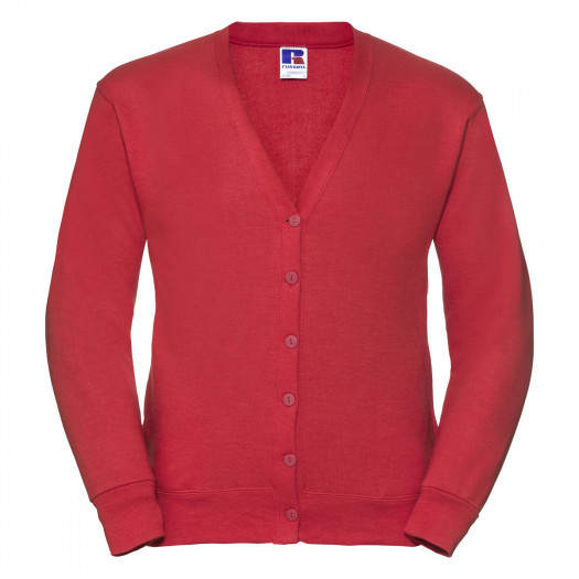 Cardigan LARRY - ROUGE