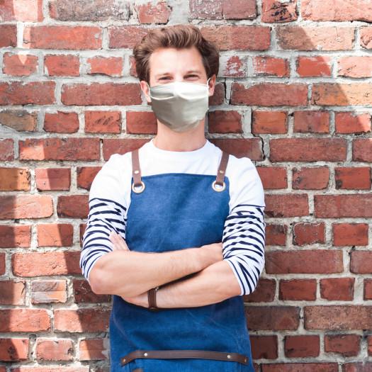 Lot de 5 Masques UNS1 en Tissu Lavable 50 fois